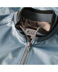 Maison Margiela Gray 10 Satin Bomber Jacket for men