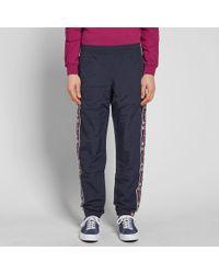 Champion Blue Vintage Taped Track Pant for men