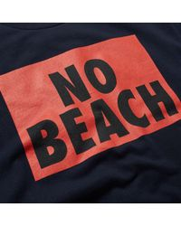 WOOD WOOD | Blue No Beach Tee for Men | Lyst
