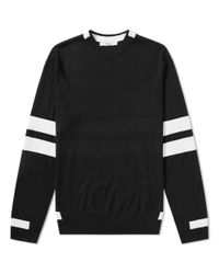 Givenchy Black Arm Band Crew Knit for men
