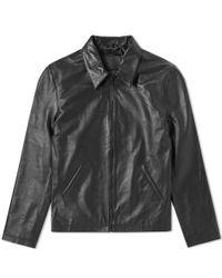MKI Miyuki-Zoku Black Stealth Biker Jacket for men