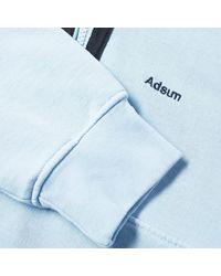 Adsum Blue 1/4 Zip Fleece Jacket for men