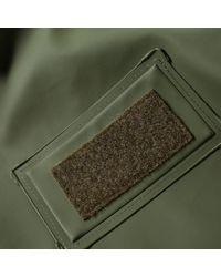 Stutterheim Green X Alpha Industries M65 Fishtail Jacket for men