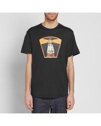 Nanamica - Black Loopwheel Coolmax Graphic Tee for Men - Lyst