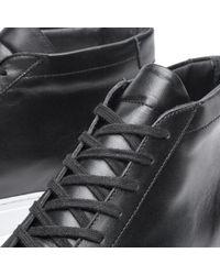 Common Projects Black Original Achilles Mid White Sole for men
