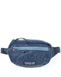 Patagonia - Blue Lightweight Travel Mini Hip Pack for Men - Lyst