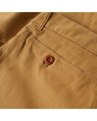 Freemans Sporting Club Brown Winchester Classic Chino for men