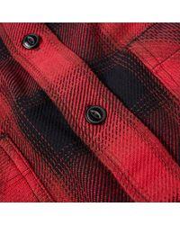 Edwin Red Labour Shirt for men