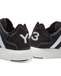 Y-3 Black Yoji Run Boost for men