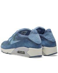 Nike Blue Lab Air Max 90 Flyknit