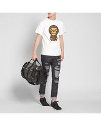 A Bathing Ape White Big Baby Milo Tee for men