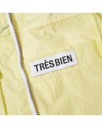 Tres Bien - Green Two Layer Short Parka for Men - Lyst