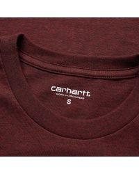 Carhartt WIP - Purple Pocket Tee for Men - Lyst