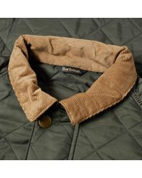 Barbour Green Canterdale Quilt Jacket for men