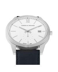 Larsson & Jennings Blue Saxon 39mm Watch for men