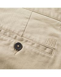 AMI Natural Slim Fit Chino for men