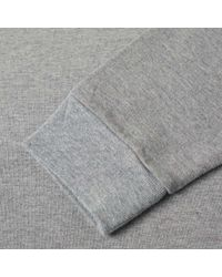 Beams Plus - Gray Pocket Jersey Crew for Men - Lyst