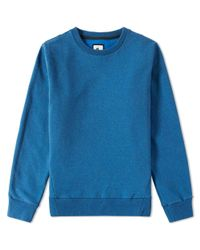 Nike Blue Essentials Fleece Crew for men