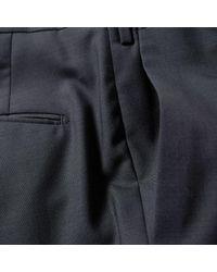 Incotex Gray Slim Fit Super Wool Pant for men