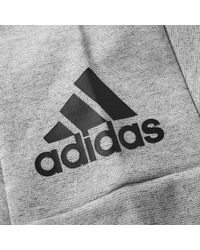 Adidas Gray Stadium Crew Sweat for men