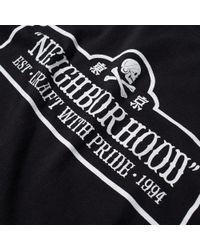 Neighborhood Black T.n.t. Tee for men