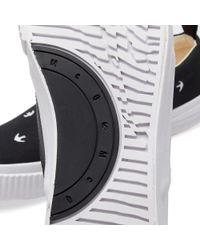 McQ Alexander McQueen Black Mcq By Alexander Mcqueen Swallow Slip-on Sneaker
