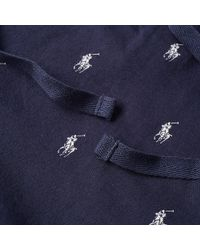 Polo Ralph Lauren Blue All Over Pony Jogger