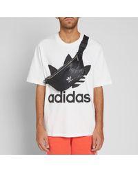 Adidas Black Waist Bag for men