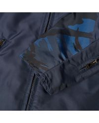 Belstaff Blue X Sophnet. Nylon Rebel Jacket for men