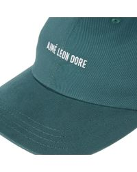 Aimé Leon Dore - Green Logo Cap for Men - Lyst