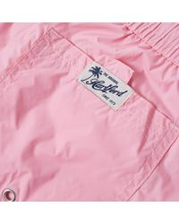 Hartford Pink Boxer Swim Short for men