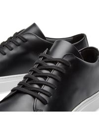 Common Projects Black Court Low Boxed Leather for men