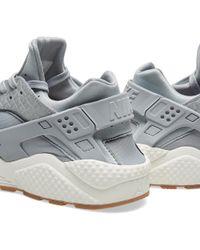 Nike Gray W Air Huarache Run Premium for men