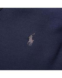 Polo Ralph Lauren - Blue Double Tech Crew Sweat for Men - Lyst