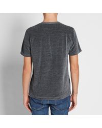 Our Legacy Gray Splash Perfect Tee for men