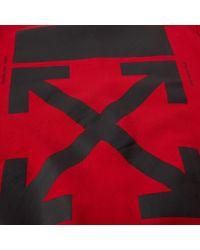 Off-White c/o Virgil Abloh Red Diagonal Monalisa Crew Sweat for men