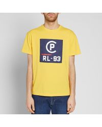 Polo Ralph Lauren - Yellow Americas Cup Rl-93 Tee for Men - Lyst