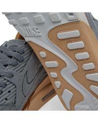 Nike Gray Air Max 90 Royal for men