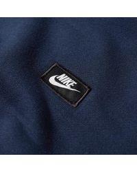 Nike Blue Modern Pullover Hoody for men