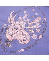 Acne - Purple Orinak Moose Hoody - Lyst