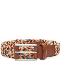 Andersons | Multicolor Anderson's Woven Textile Belt for Men | Lyst
