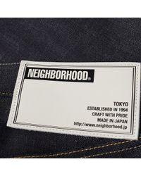 Neighborhood Blue Rigid Deep Mid Jean for men