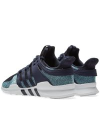 Adidas Blue Eqt Support Adv Ck Parley for men