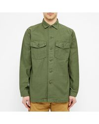 Orslow Green Us Army Shirt for men