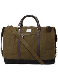 Sandqvist Green Jordan Weekend Bag for men