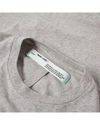 Off-White c/o Virgil Abloh - Multicolor Long Sleeve Basic Tee - 3 Pack for Men - Lyst