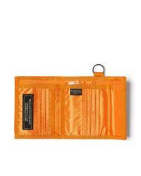 Porter Orange Tanker Wallet for men