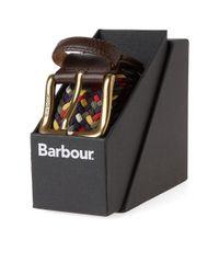 Barbour - Multicolor Woven Stretch Belt - Lyst