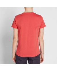 A.P.C. Red Jimmy Tee for men