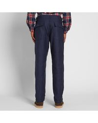 Engineered Garments Blue Fatigue Pant for men